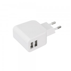 Блок питания ARDV-16-5V-USB DUO (5V, 3.1A, 16W, White)